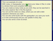 Version update 1.4.0 : create and edit notes, blink support, …